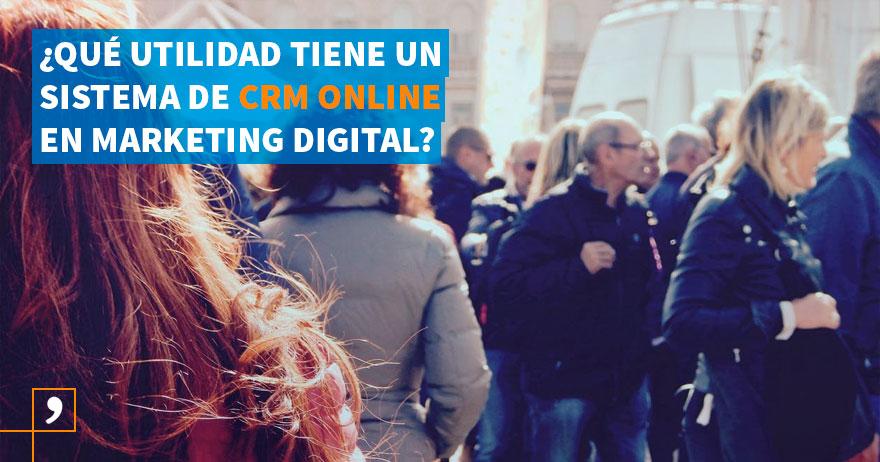 Utilidad de un CRM online