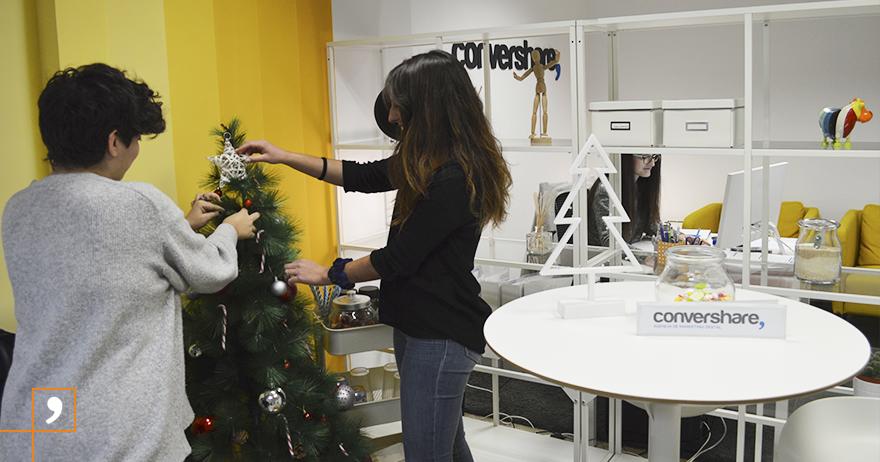 ¡El equipo de Convershare te desea Felices Fiestas!