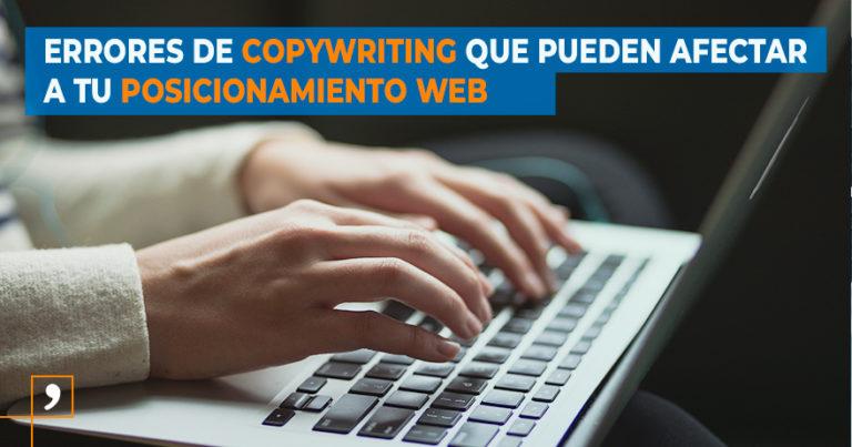 Copywriting para mejorar el posicionamiento web