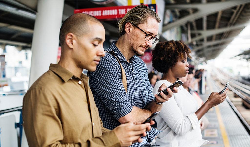 Los usuarios están en Redes Sociales